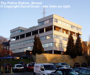 Stroud's 1970s Police Station