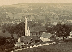 Selsley Church, from an old postcard