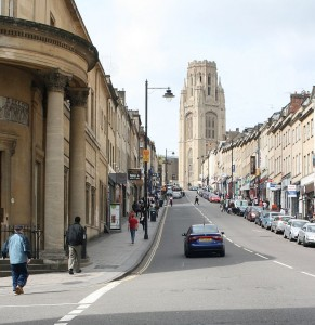 Park Street and the Wills Memorial Building Tower
