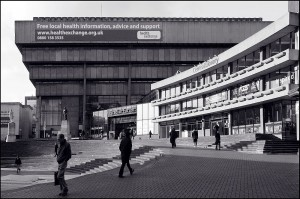 Birmingham Central Library. John Madin. Built 1974. Demolished 2015.