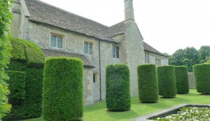 Westwood Manor - the topiary garden