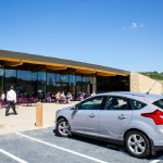 Gloucester Services - front - entrance from car park