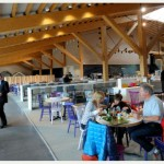 Gloucester Services - interior - restaurant eye level